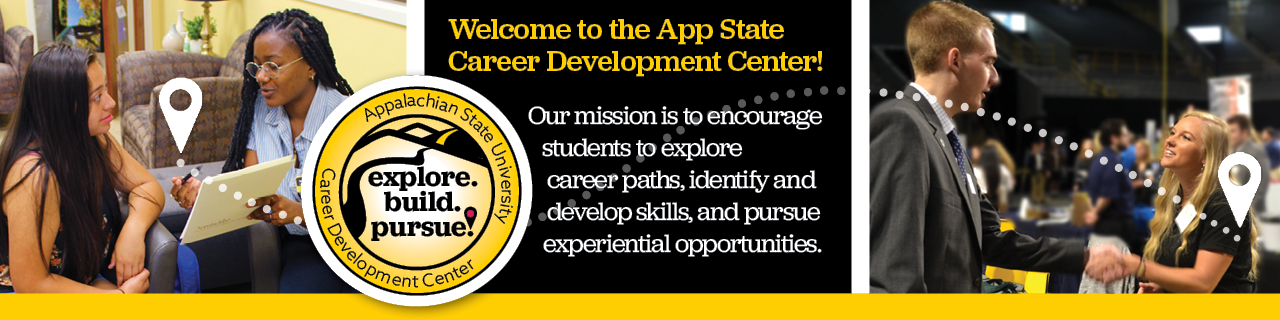 Welcome to the App State Career Development Center!