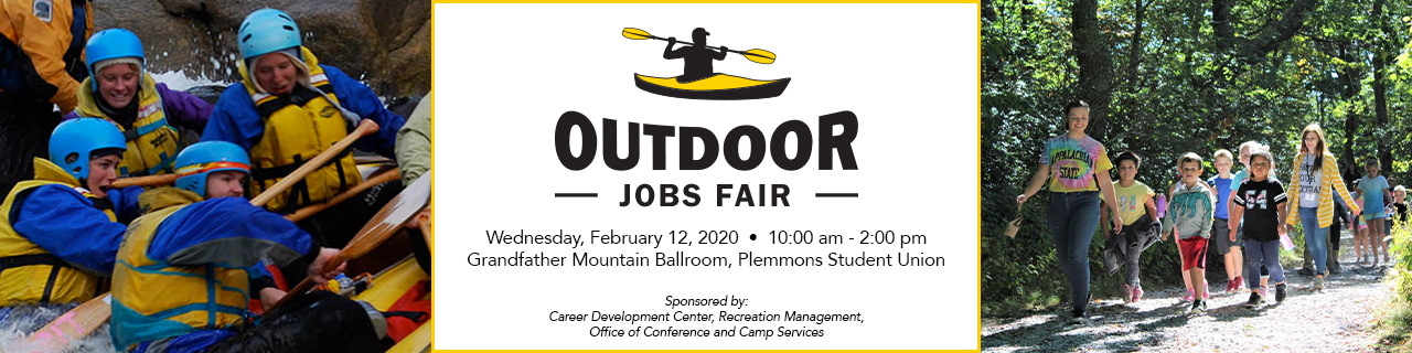 Outdoor Jobs Fair