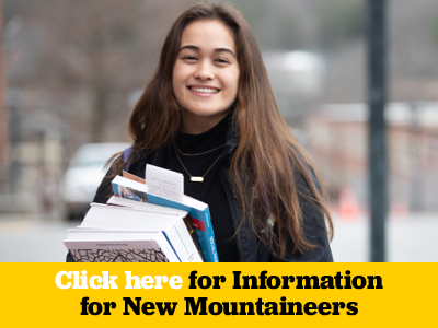 Click here for Information for New Mountaineers